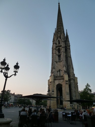 Sun Setting in Bordeaux