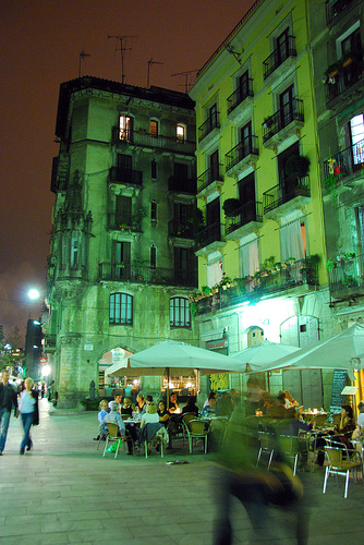 Nightlife in El Born Barcelona