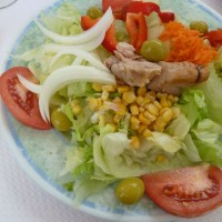 Typical Spanish Salad