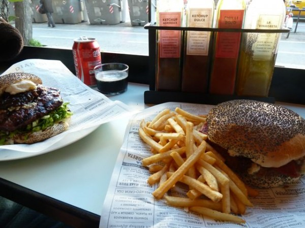 Burgers in Barcelona - Veggie and Beef