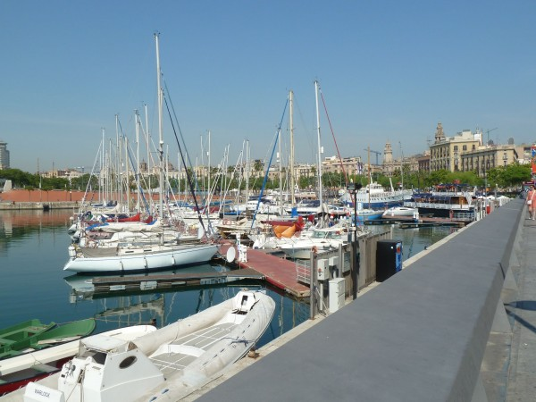 Lunch on Port Vell