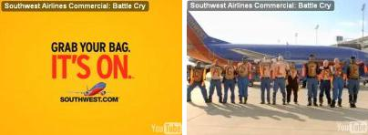 Southwest Airlines 'It's On' ad