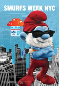 Smurfs Week NYC