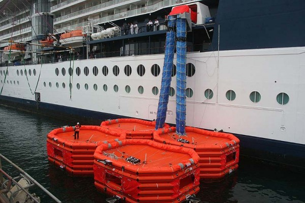 cruise ship lifeboats